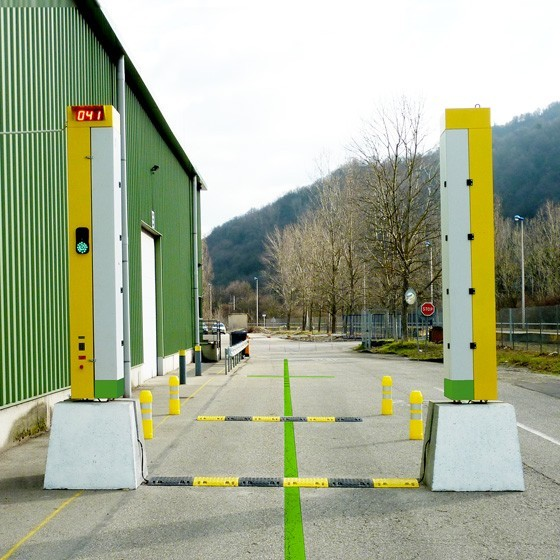Outdoor RFID Gate